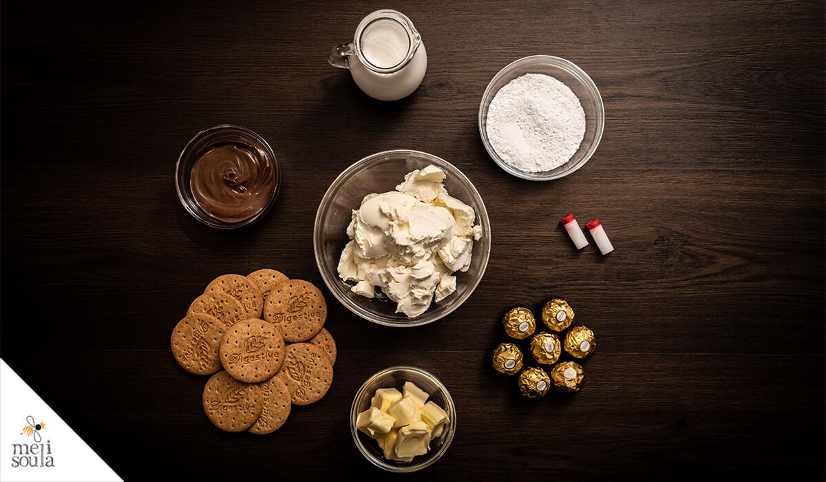 Cheesecake Ferrero Rocher