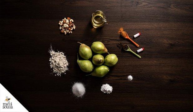 Αχλαδόπιτα