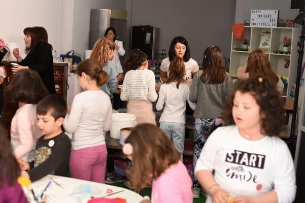 Παιδικό Εργαστήρι Ζαχαροπλαστικής